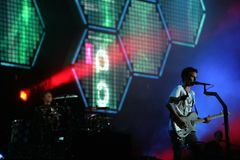 MUSE IN CONCERT Stock Image