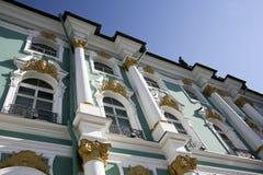 Musée d'ermitage à St Petersburg Image libre de droits