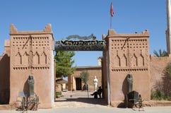 Musée de cinéma dans Ouarzazate, Maroc Image stock