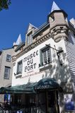 Musée de fort à vieux Quebec City Photographie stock libre de droits