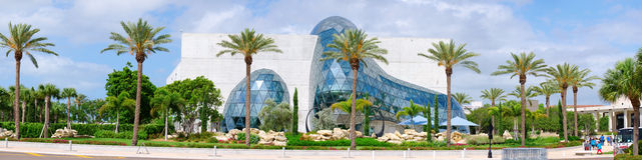 Musée de Salvador Dali en Floride Photo libre de droits