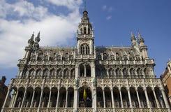 Musée de ville de Bruxelles, Belgique Images libres de droits