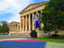 Musée des beaux-arts Budapest Image stock