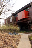 The Musee du quai Branly in Paris Royalty Free Stock Photography