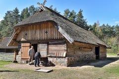 Musée ethnographique en plein air letton à Riga Photo libre de droits