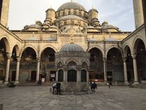 Muse in Istanbul. The architecture of this building is just Stock Image