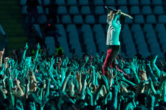 Muse Live! Royalty Free Stock Image