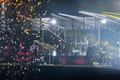 Muse Live! Royalty Free Stock Photos