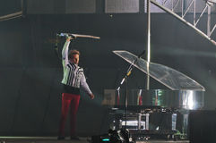 Muse Live! Royalty Free Stock Photo