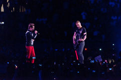 Muse Live! Royalty Free Stock Images