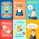 Muse Mini Poster Set Royalty Free Stock Photography