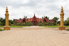 Musée National Phnom Penh Photos stock