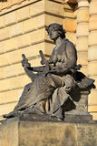 Muse from the Old Prague City, Czech Republic Stock Photos