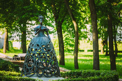 The Muse of the opera - sculpture in park near The Stock Photography