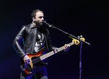 Muse Performs in Overleg royalty-vrije stock afbeeldingen