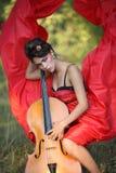 Muse pour des musiciens Photographie stock libre de droits