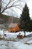 Musée rural 'moulin à eau' de la vie Photographie stock libre de droits