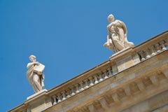 Muse-Skulpturen Lizenzfreies Stockbild