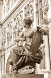 Muse statue in Paris Royalty Free Stock Images