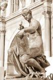 Muse statue in Paris Stock Photos