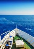 Museau du bateau de navigation Photo libre de droits