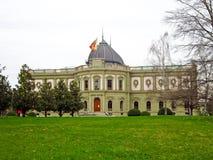 Musee Ariana, Genebra, Suíça imagem de stock