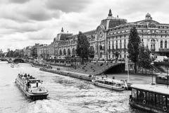 Musee d `奥赛奥赛博物馆巴黎,法国 库存照片