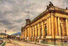 Musee d'Art和d'Histoire在日内瓦 免版税库存照片