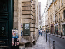 Musee d'art和d'histoire de Judaisme, le马瑞斯,巴黎 免版税库存照片