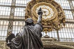 Musee d'Orsay à Paris, France photographie stock