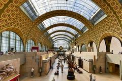 Musee d& x27 Orsay - Παρίσι, Γαλλία Στοκ εικόνα με δικαίωμα ελεύθερης χρήσης