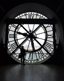 Musee d'orsay Borduhr Stockfotografie