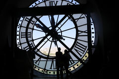 Musee D Orsay Clock Stock Images