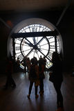 Musee d'orsay Clock Royalty Free Stock Photography