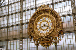 Musee d'Orsay Clock (Orsay Museum) in Paris Royalty Free Stock Photos