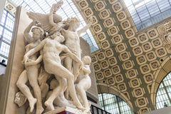 Musee d'Orsay en París, Francia fotos de archivo