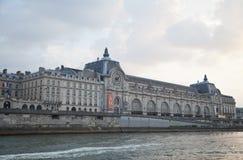 Musee d Orsay, fiume la Senna, Parigi, Francia Fotografia Stock
