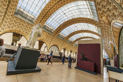 In Musee d'Orsay Stock Photo