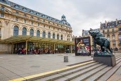 Musee D ` Orsay i Paris, Frankrike Royaltyfri Foto