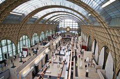 Musee d'Orsay. Museum Orsay in Paris France Stock Photo