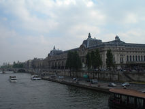 Musee d'Orsay o el museo de Orsay, París Fotografía de archivo