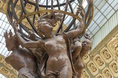Musee d'Orsay in Parijs, Frankrijk stock foto