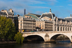 Musee d'Orsay In Paris Stock Photography
