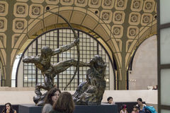 Musee d'Orsay in Paris, France Stock Photography