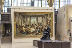 Musee d'Orsay in Paris, France Stock Images