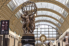 Musee d'Orsay in Paris, France. Europe Royalty Free Stock Photo