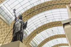 Musee d'Orsay in Paris, France. Europe Royalty Free Stock Photos