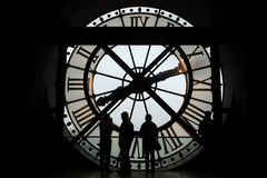 Musee d Orsay in Paris, France. Stock Photo