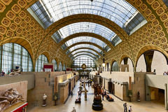 Musee d& x27;Orsay - Paris, France. Paris, France - May 16, 2017: TheMusee d& x27;Orsay, a museum in Paris, France. It is housed in the formerGare d& x27 Royalty Free Stock Image