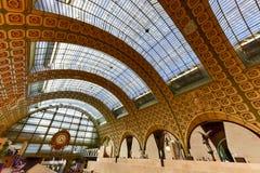 Musee d& x27; Orsay - Paris, Frankrike Arkivfoton